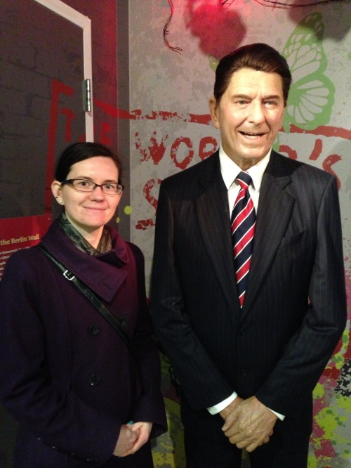 The Gipper and me