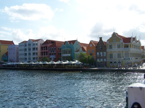 Waterfront in Willemstad, Curacao