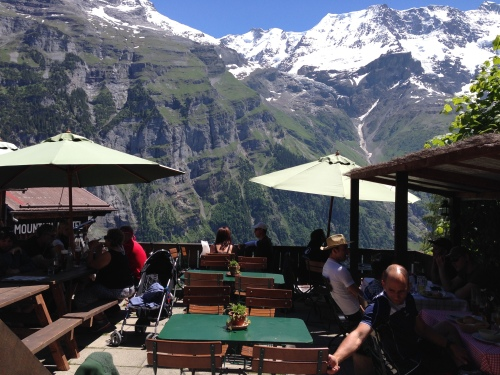 Just an everyday view in Gimmelwald.